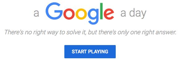 A Google A Day