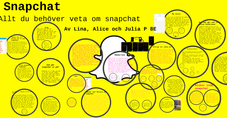 Snapchat elaka meddelanden