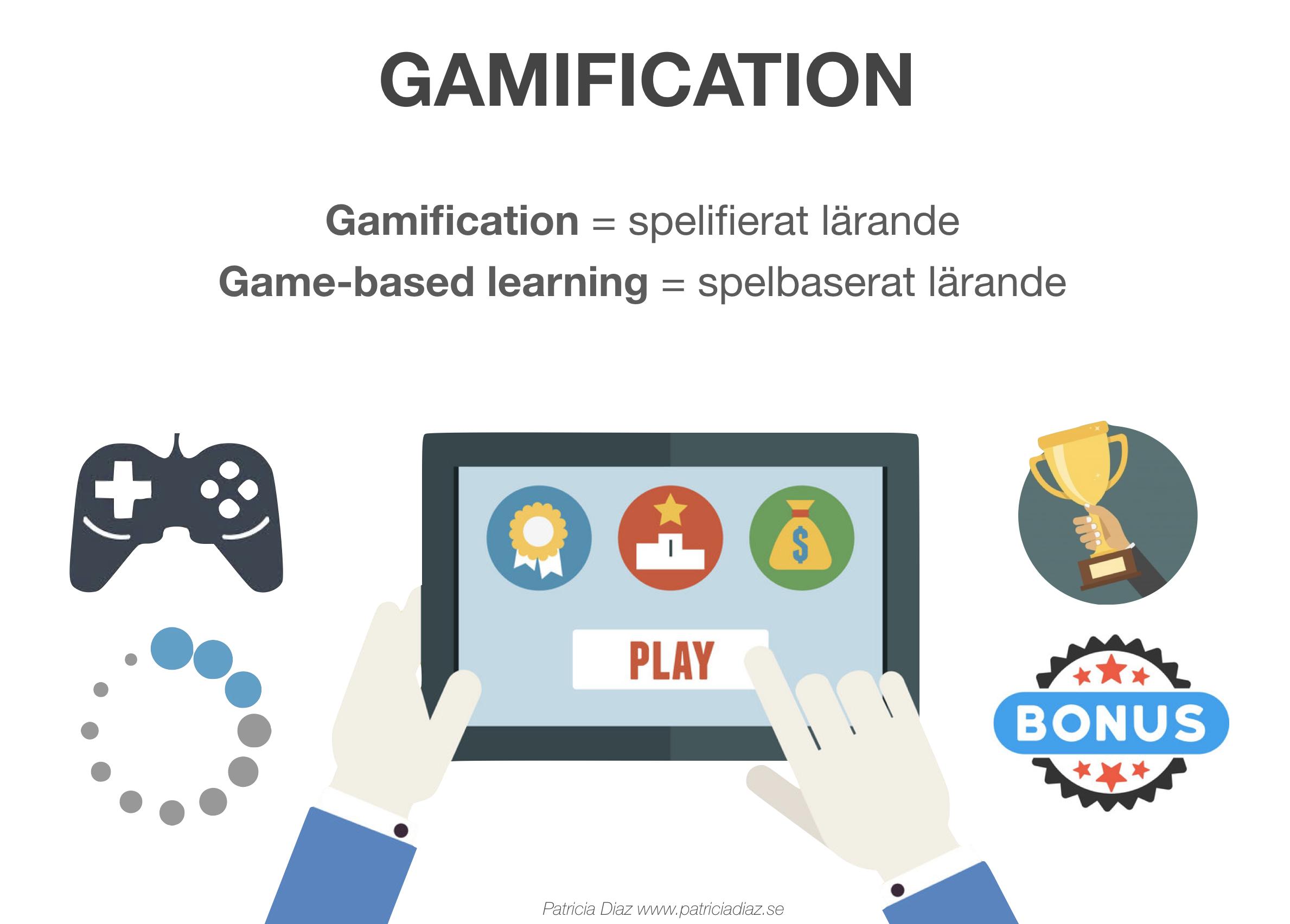 Gamification och game-based learning har länge varit två ord som förekommit  frekvent när man talar om spel i undervisningssammanhang. Kika på  nedanstående ... 63c400134d592